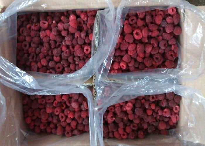 100% Natural IQF Frozen Raspberry IQF Frozen Fruit 24 Hours Services